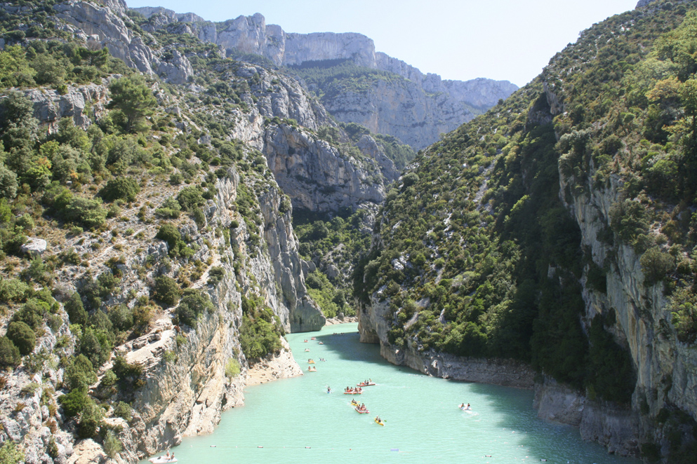 Francia: alle Gole del Verdon, il Grand Canyon d'Europa
