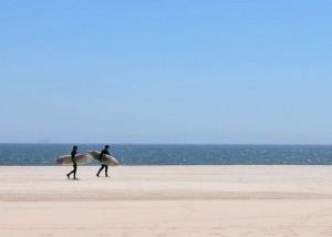 New York: Rockaway Beach, spiaggia trendy