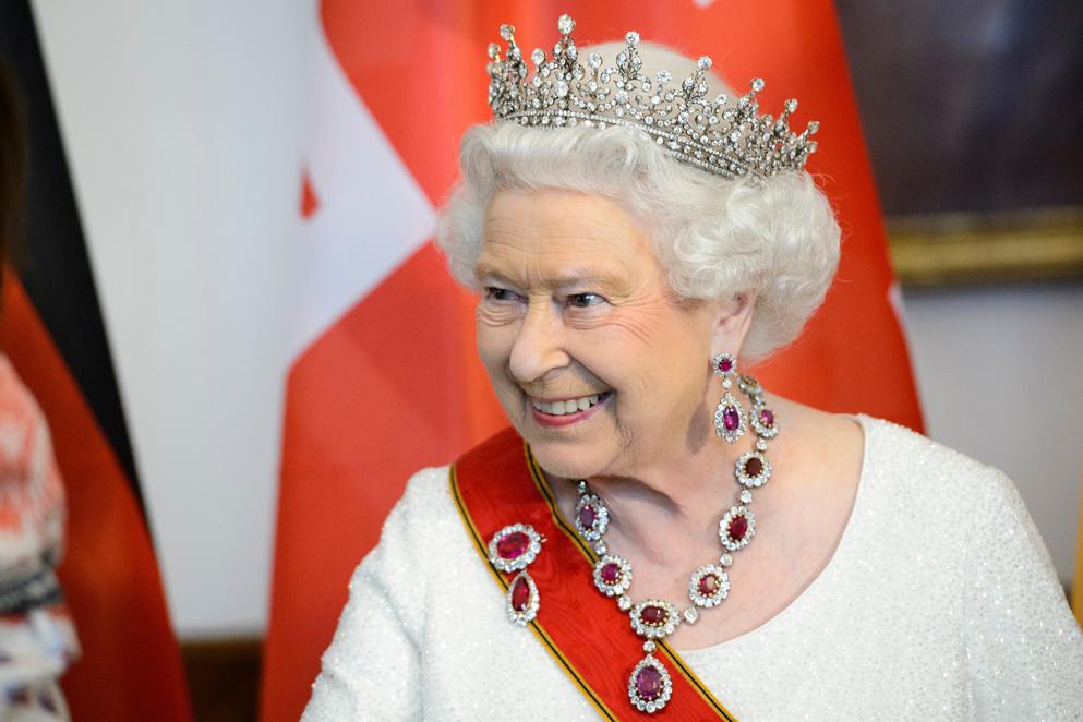 The Queen formato souvenir