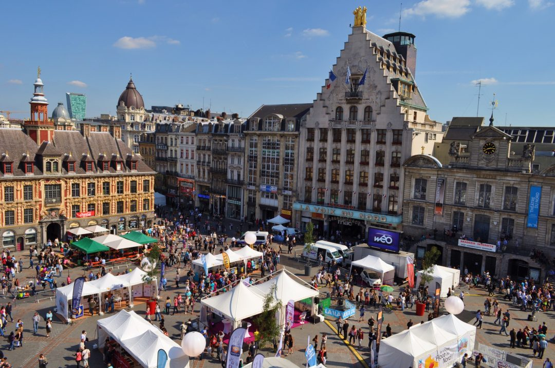 A Lille per la Grande Braderie, la megafesta del Bric a brac