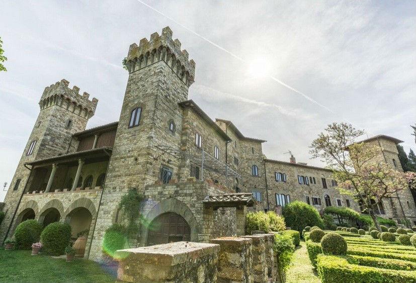 I castelli (privati) da favola in Italia