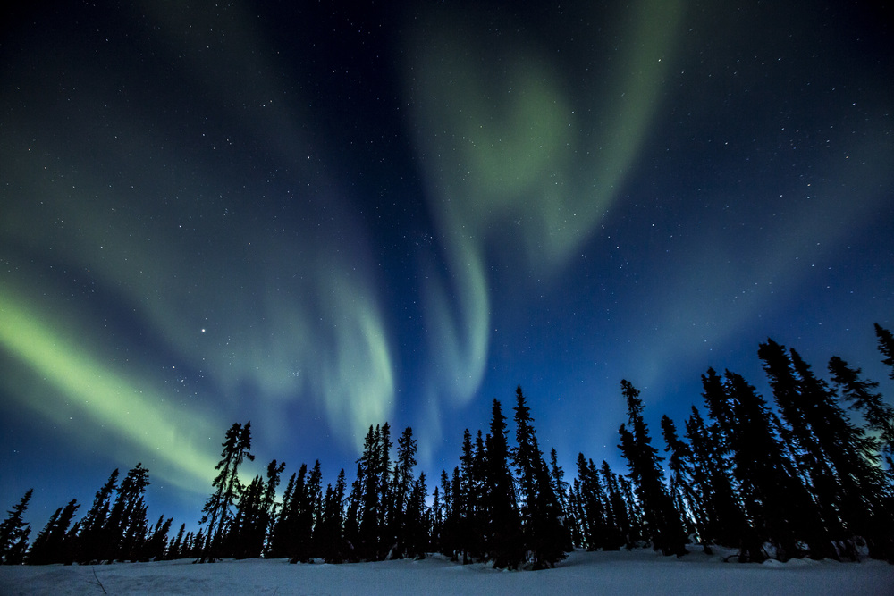 Dove vedere l'aurora boreale adesso