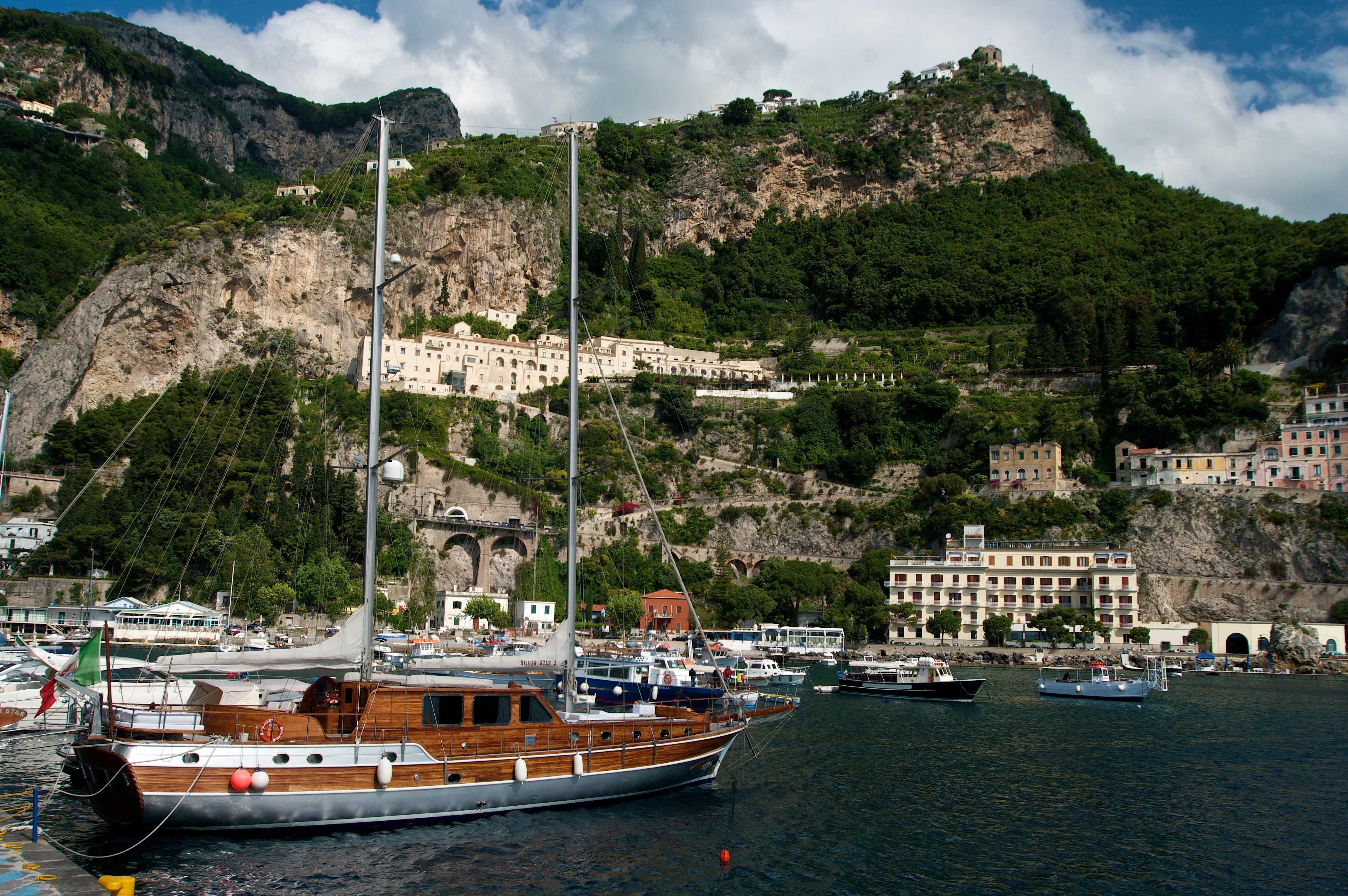 Drive & Drone, la Costiera Amalfitana in volo