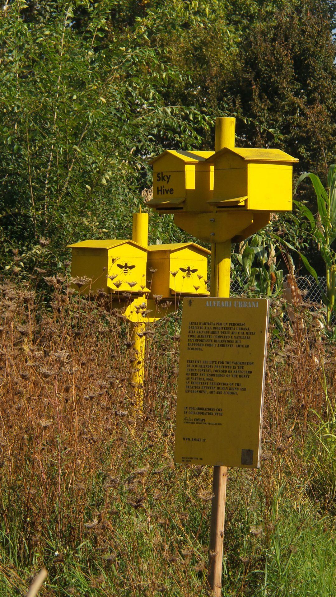 Expo: apre a Milano l'apiario d'artista