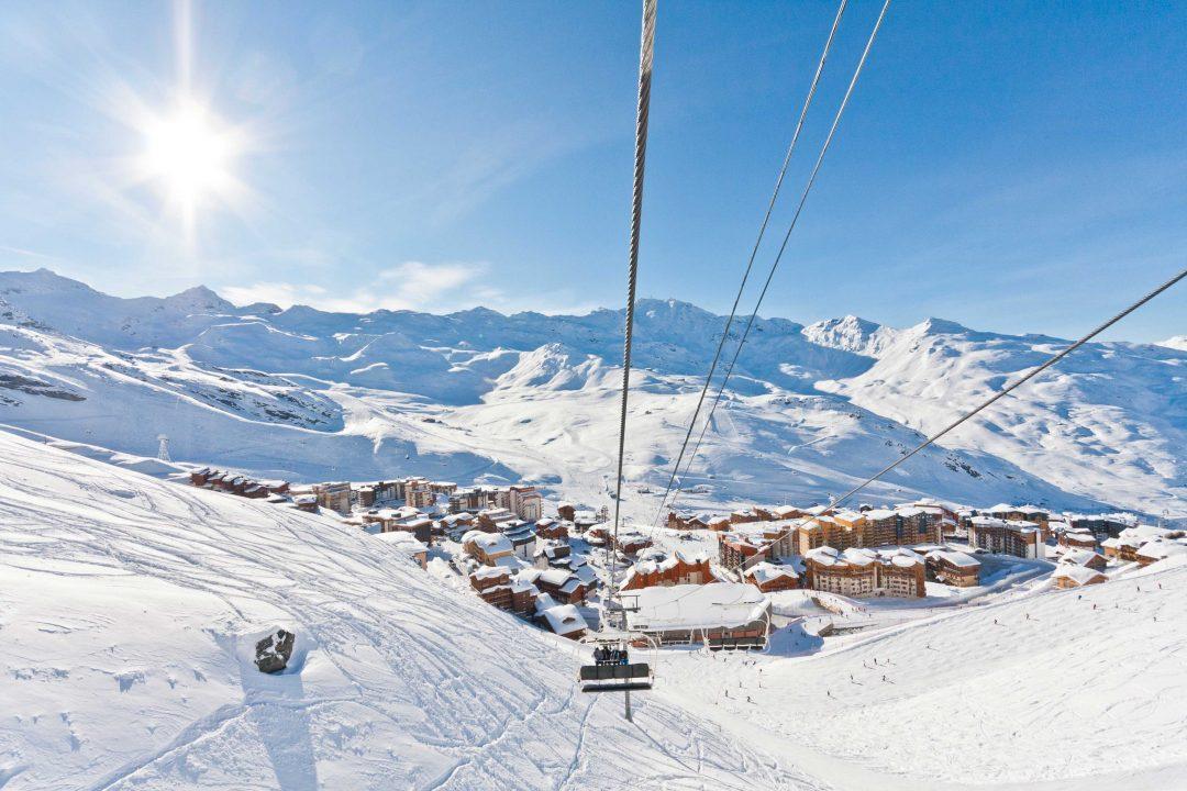 Val Thorens, sciare in alta quota