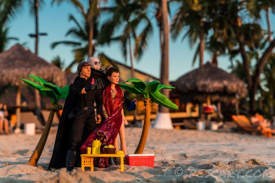 Star Wars, una vacanza di famiglia. In Madagascar