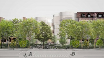 6.-Proposed-Façade-Concept—Springtime-View-with-Street-Trees-and-Park-Plantings