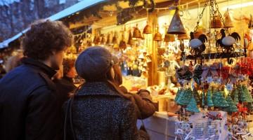 Casette Mercatino di Natale Trento – foto M. Rensi