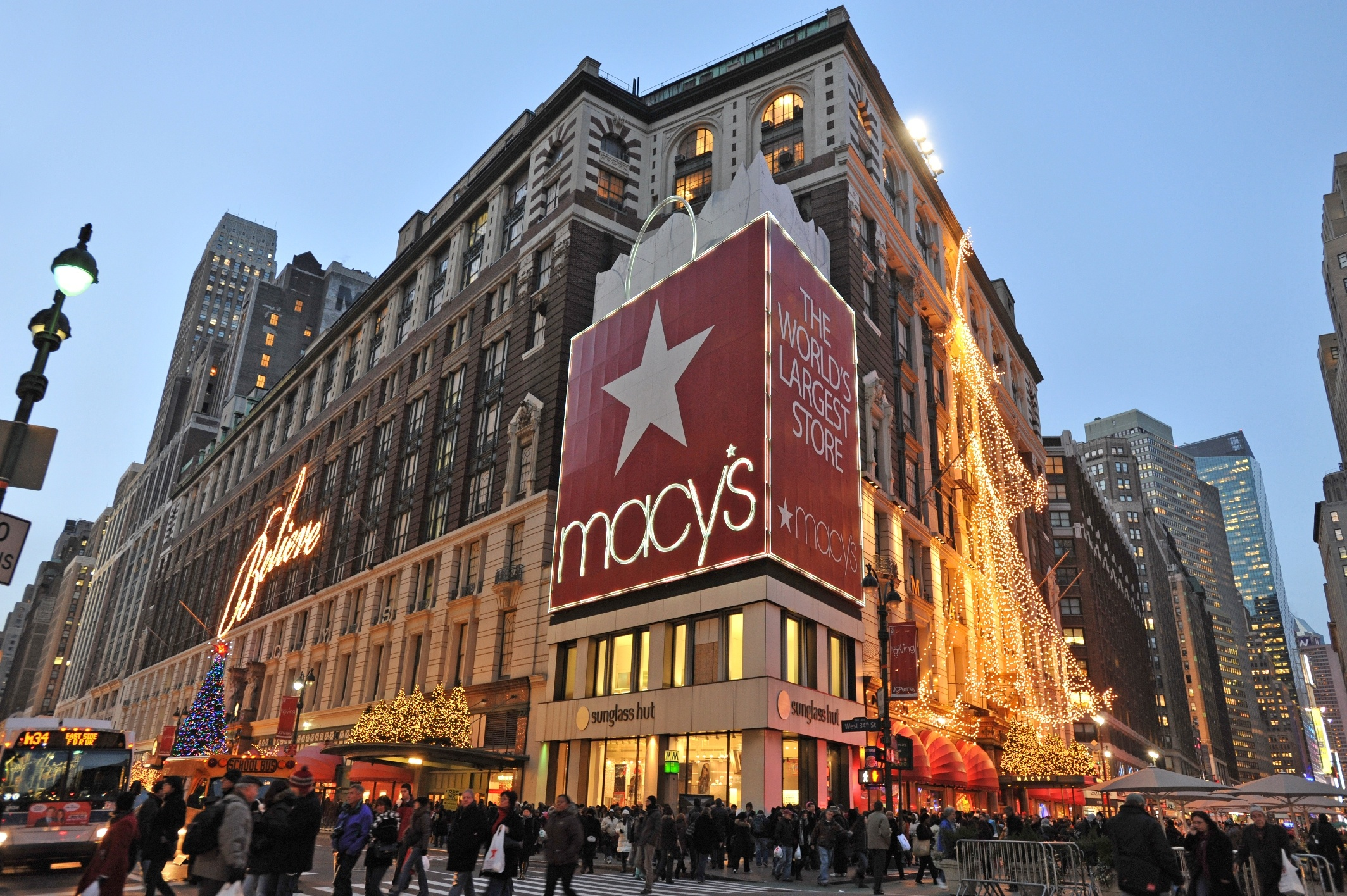 New York. Shopping d'inverno