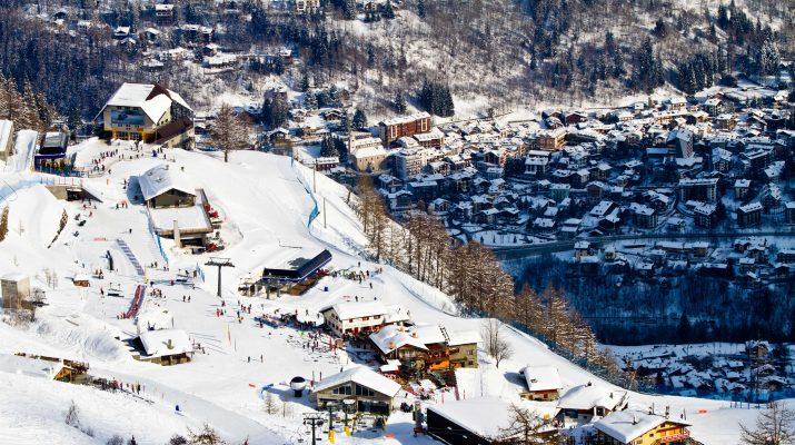 Foto Sulla neve a Courmayeur