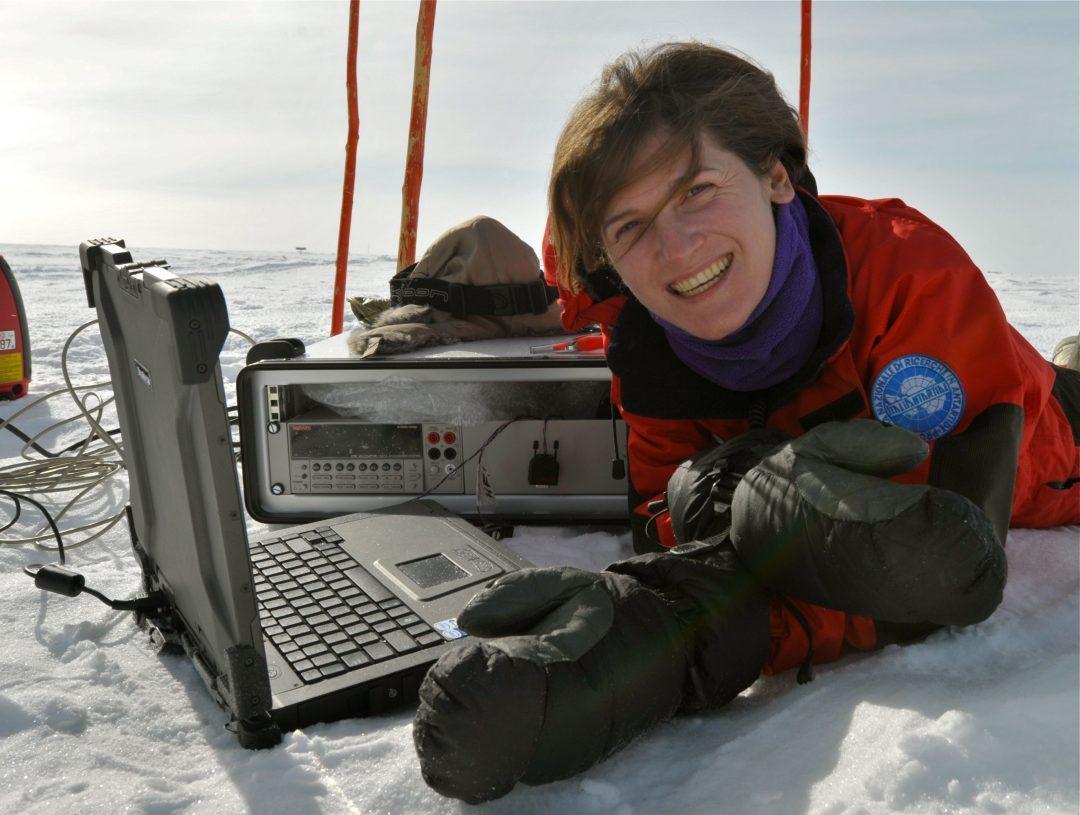 Chiara in Antartide: una valigia per partire