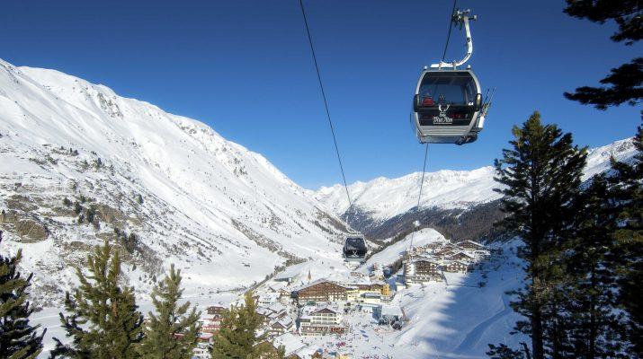 Foto Obergurgl: sci antistress nel Tirolo Austriaco