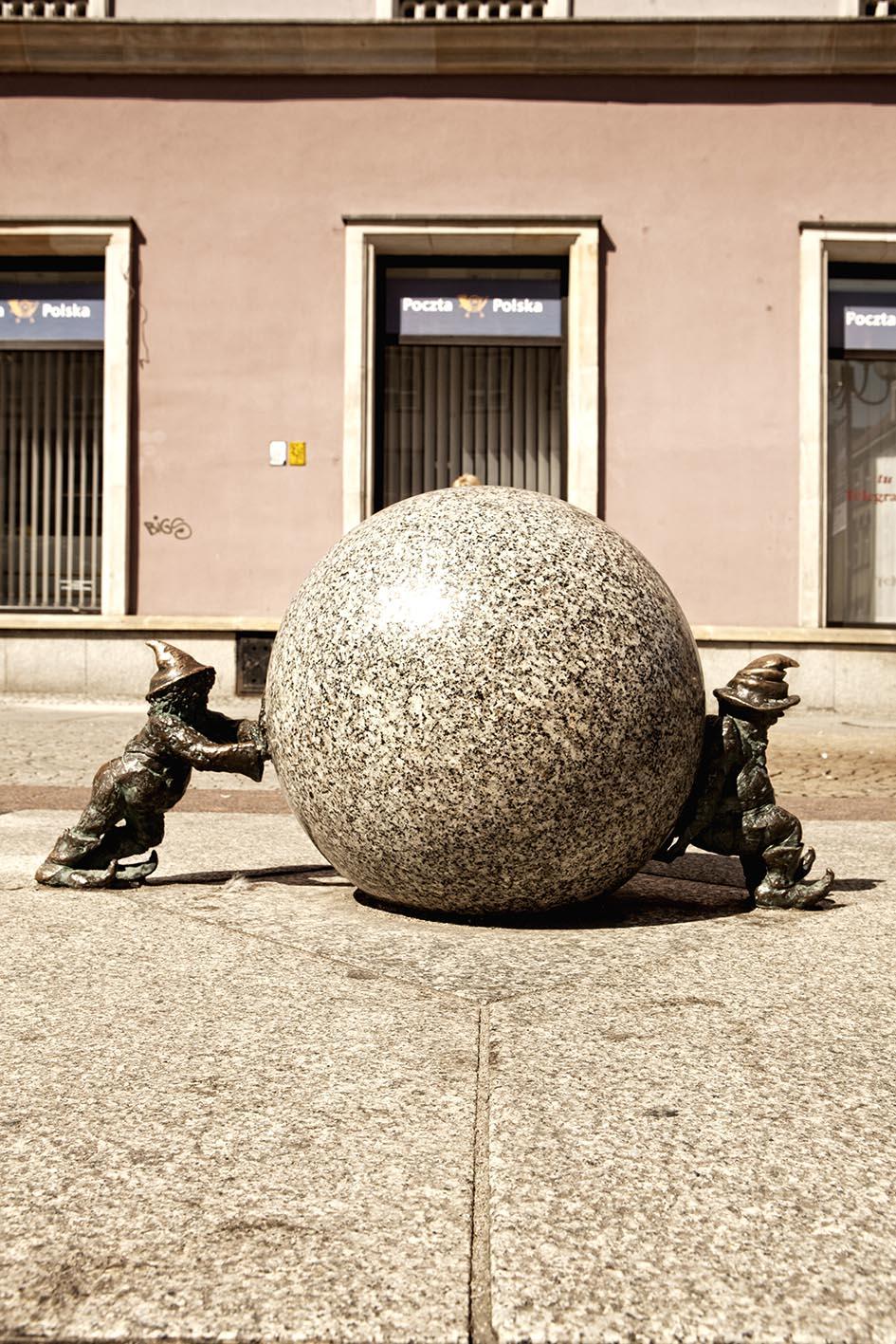 Breslavia, Polonia: la città degli gnomi