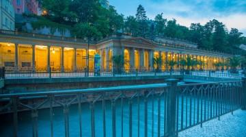 Colonnato delle sorgenti termali di Karlovy Vary