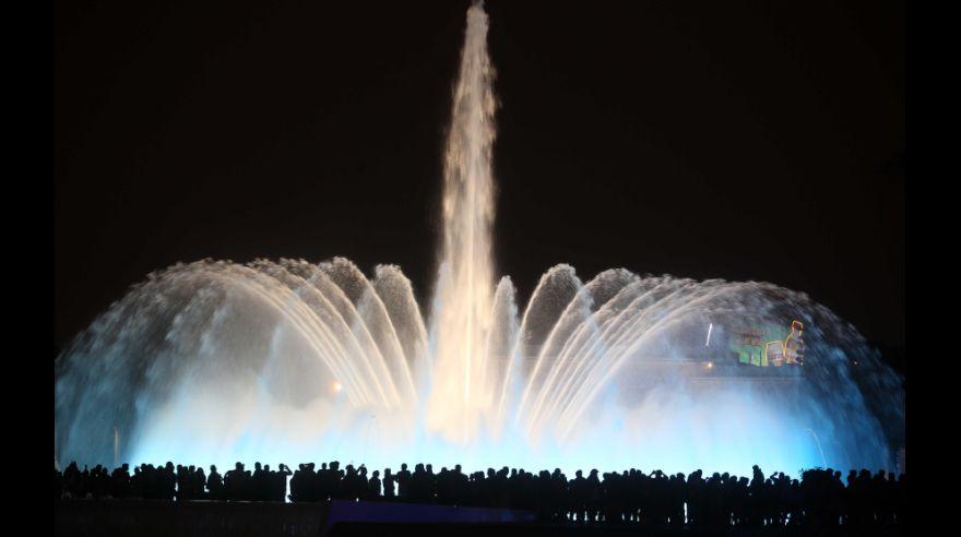 Ecco la fontana più grande del mondo