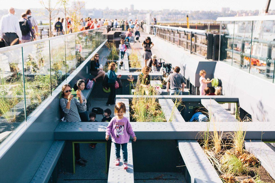 Pershing Square Beams: spazio ai bambini