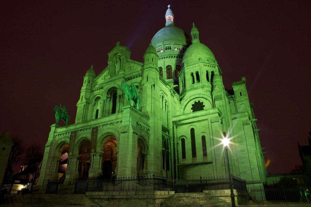 Global Greening: il mondo in verde per l'Irlanda