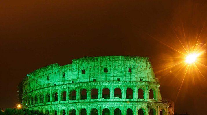 Foto Global Greening: il mondo in verde per l'Irlanda
