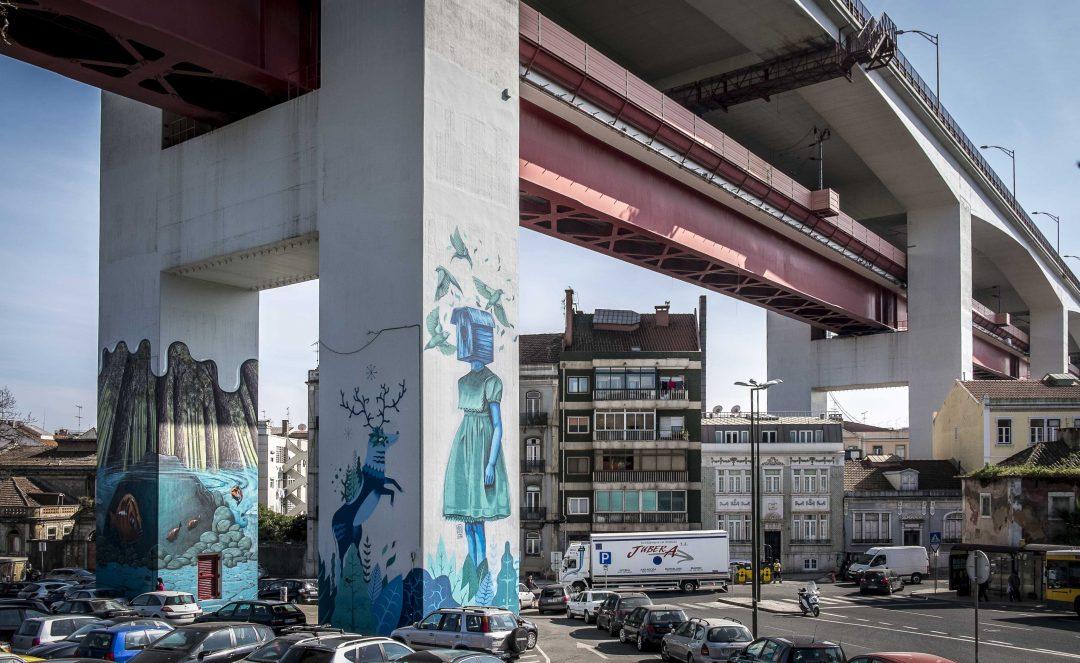 Street art tour a Lisbona