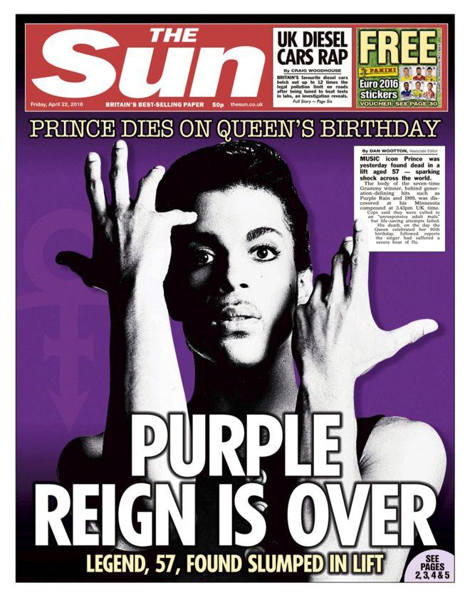 Prince: l'omaggio in viola dei monumenti del mondo