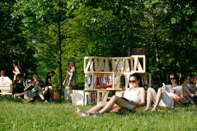 Knjižnica pod krošnjami, 31.5.2008