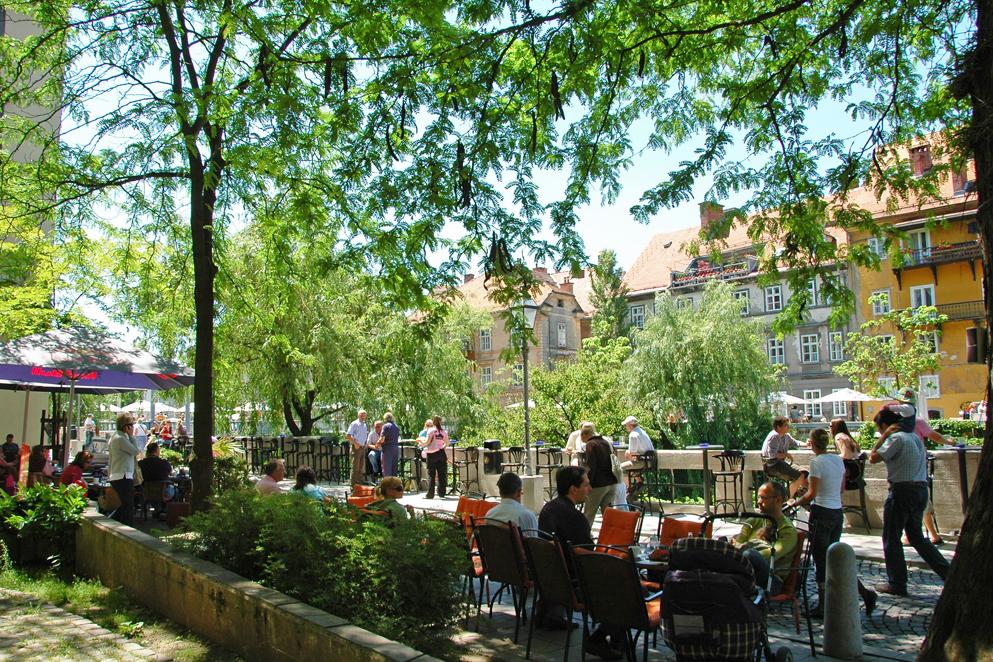 Lubiana capitale green