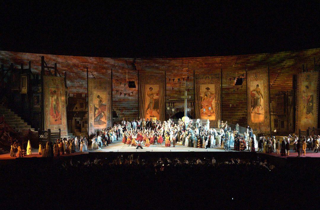 Arena di Verona: il festival Lirico e i nuovi indirizzi in città