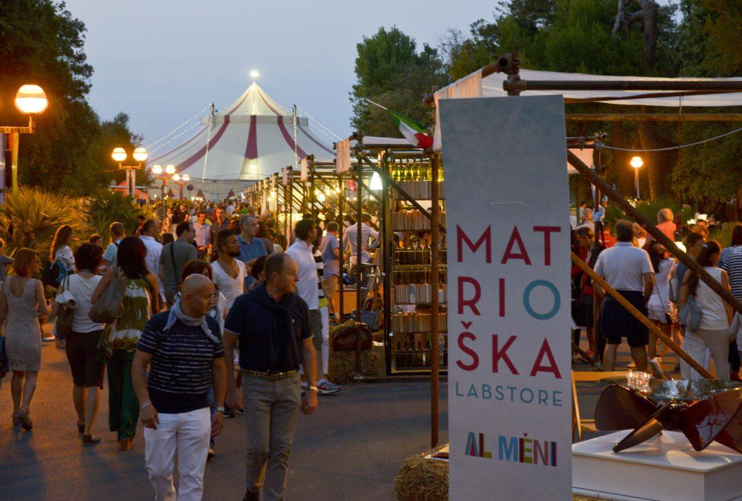 Al méni, il circo del gusto a Rimini