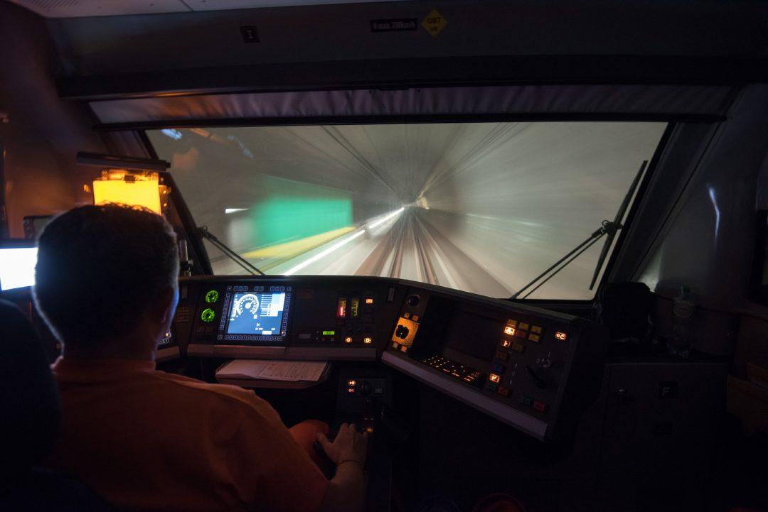 Viaggio nel nuovo tunnel del Gottardo