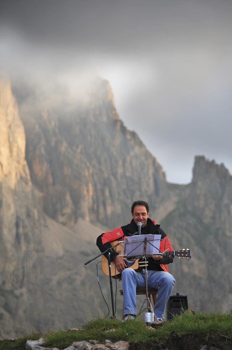I concerti e le vette dei Suoni delle Dolomiti