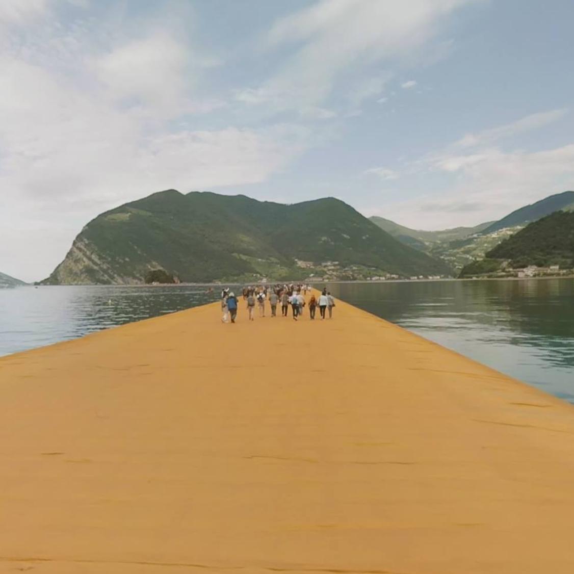 Christo, The Floating Piers: come arrivare e accedere all'opera