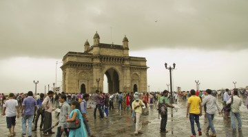 Gateway of India on a Rainy day