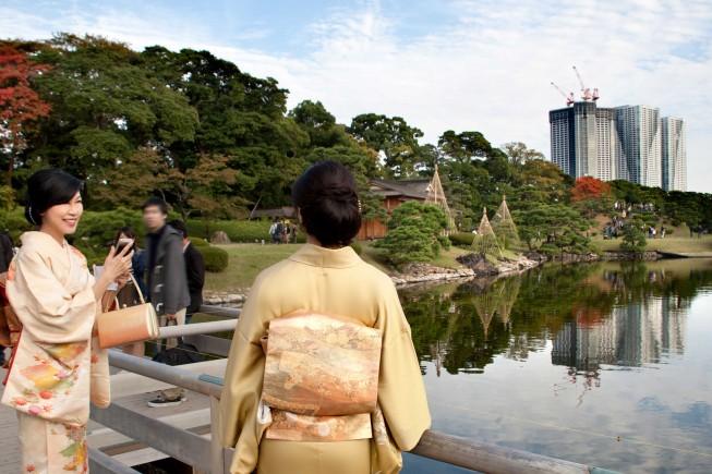 I giardini Hamarikyu a Tokyo, ph Barbara Corsico