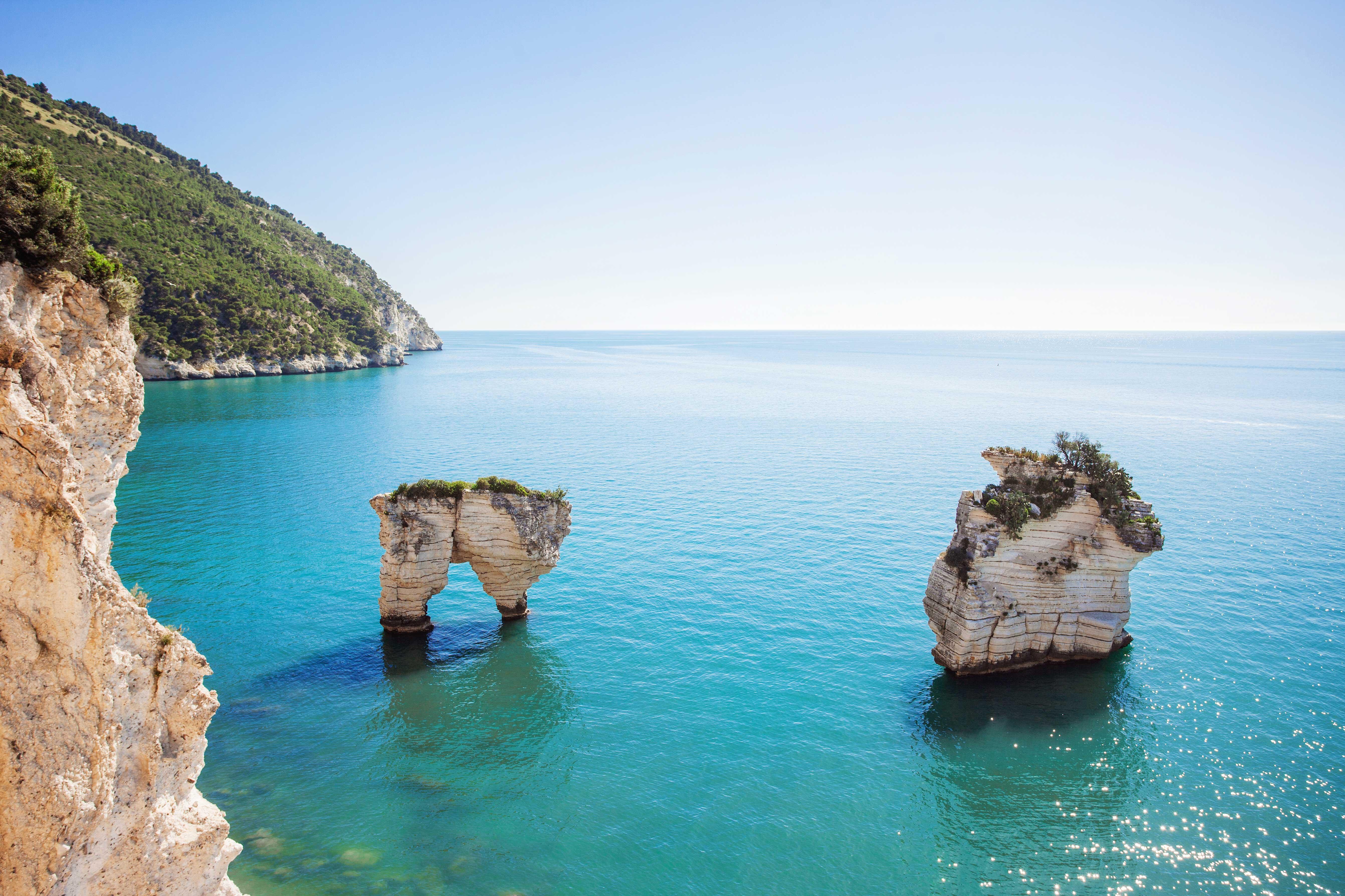 Cartina Puglia Spiagge.Le 15 Spiagge Piu Belle Della Puglia