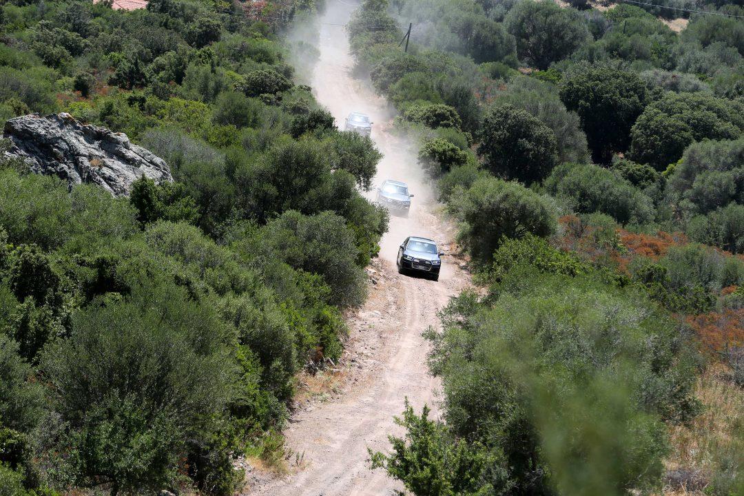 Costa Smeralda on the road