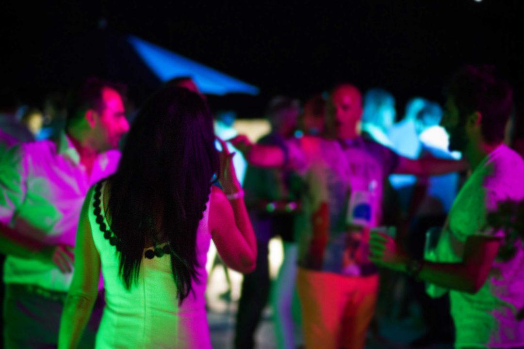 Fullmoon Party. La festa a Rovigno, Croazia