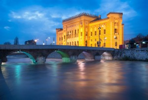 A Sarajevo, attraverso i Balcani