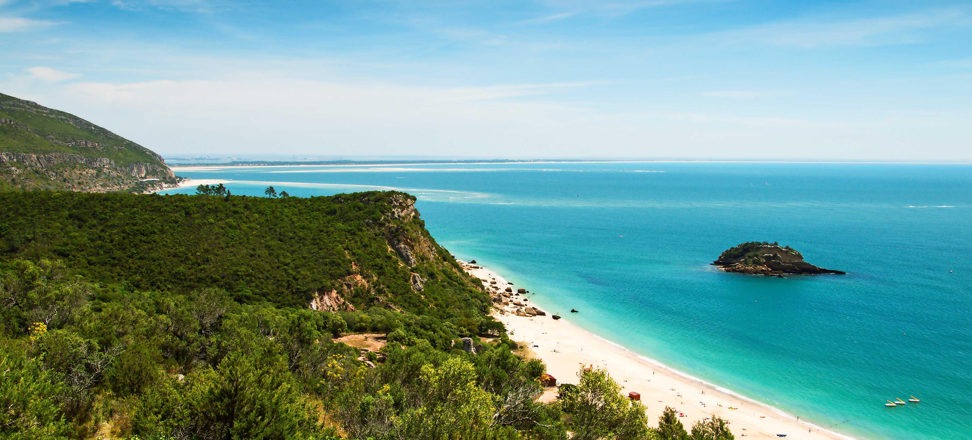 Portogallo sulla costa di caparica surf e locali vicino for Dove soggiornare a lisbona