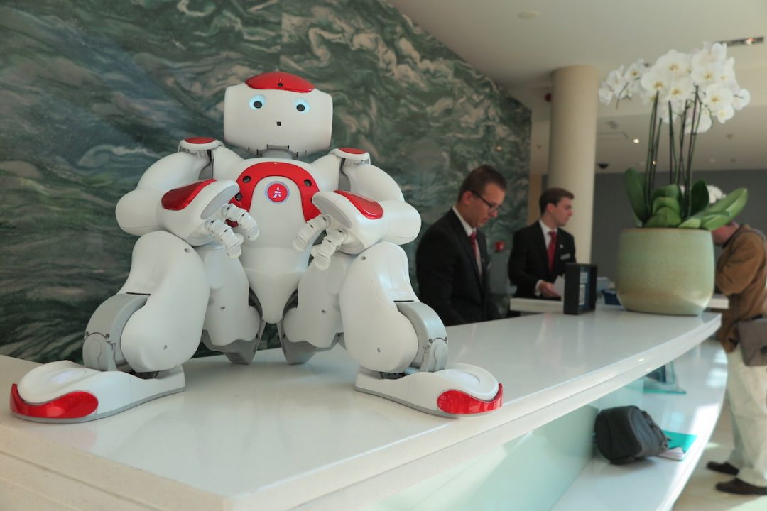 Concierge-robot & Co.: gli hotel hi-tech