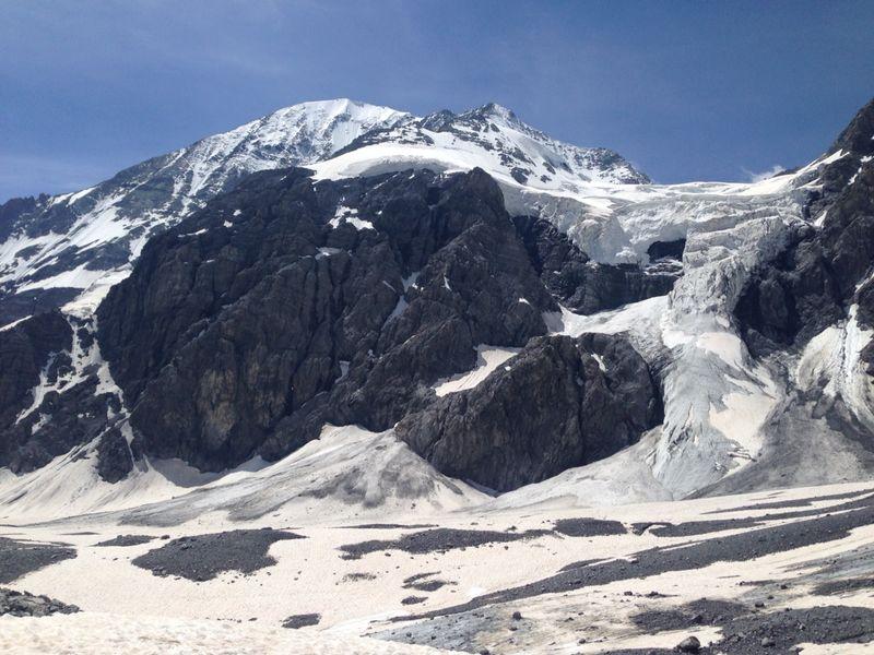 Val Venosta: estate sul ghiacciaio