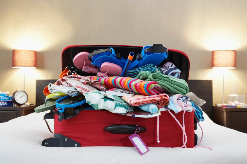 Fare la valigia: 20 trucchi salva-spazio
