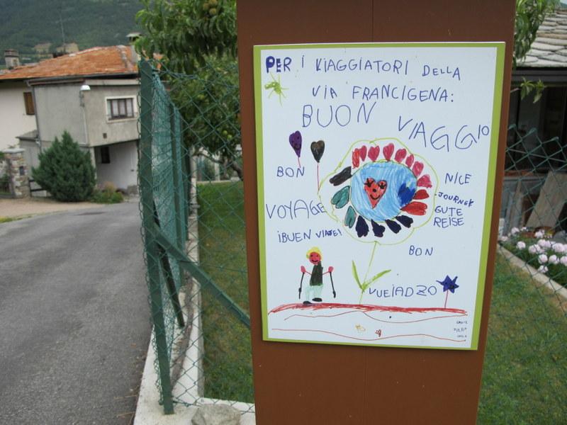 Via Francigena: la partenza dalle Alpi
