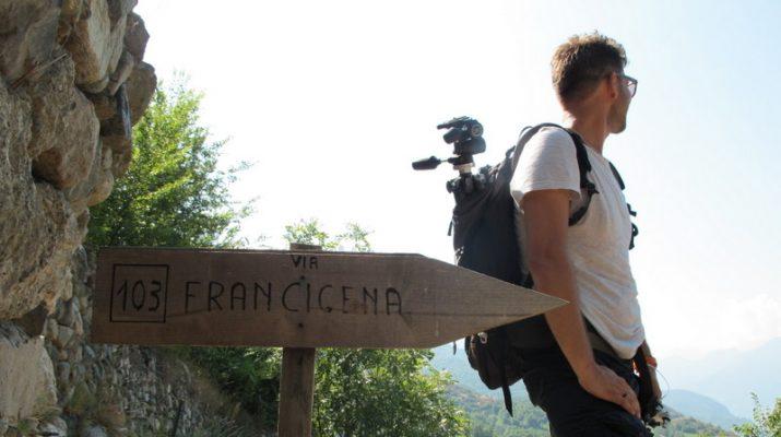 Foto Via Francigena: la partenza dalle Alpi