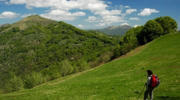 4 Il Monte Carmo dal sentiero verso l'Antola (Foto Alessio Schiavi)