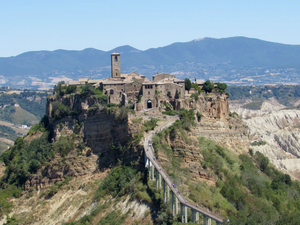 Most beautiful villages in Italy: superstar Civita di Bagnoregio (from ...