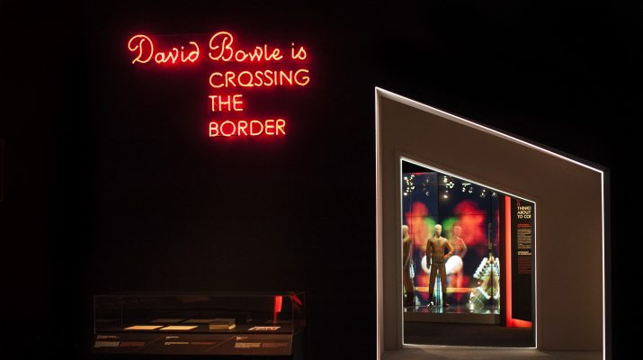 Foto David Bowie: la mostra a Bologna