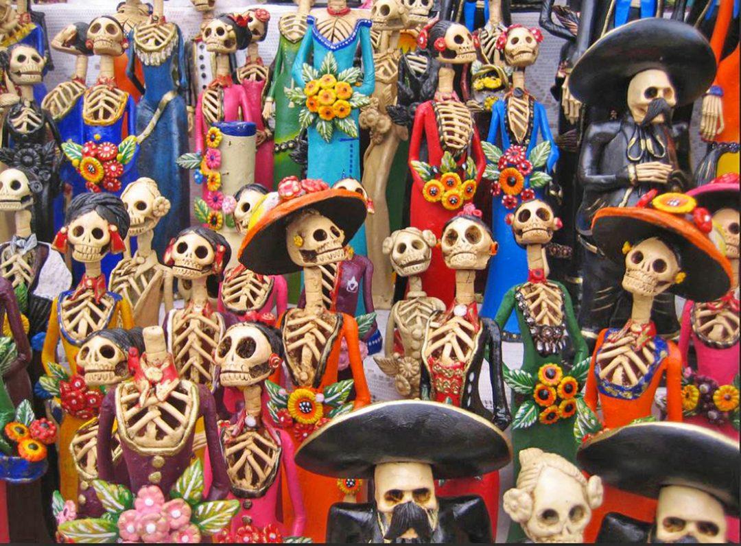 El Dia de los Muertos in Messico