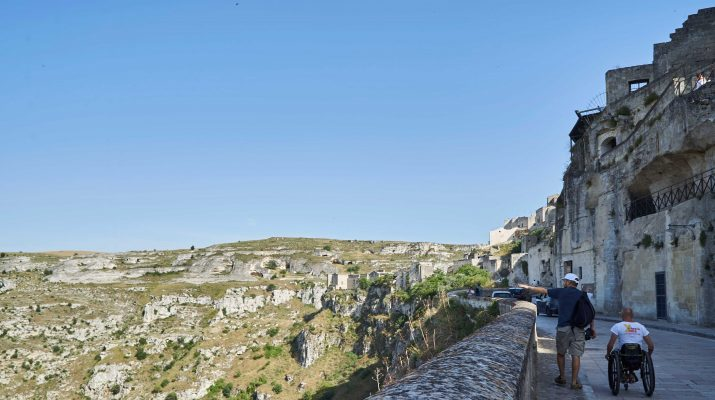 Foto Matera: giro tra i Sassi senza barriere