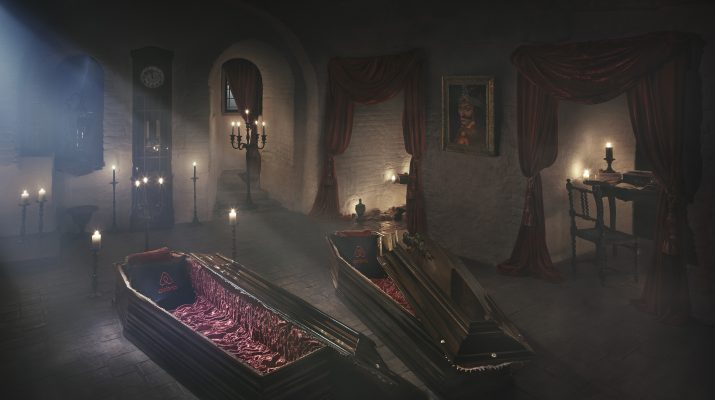 Foto Halloween da paura: dal castello di Dracula alle case stregate