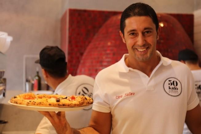 Il pizzaiolo Ciro Salvo